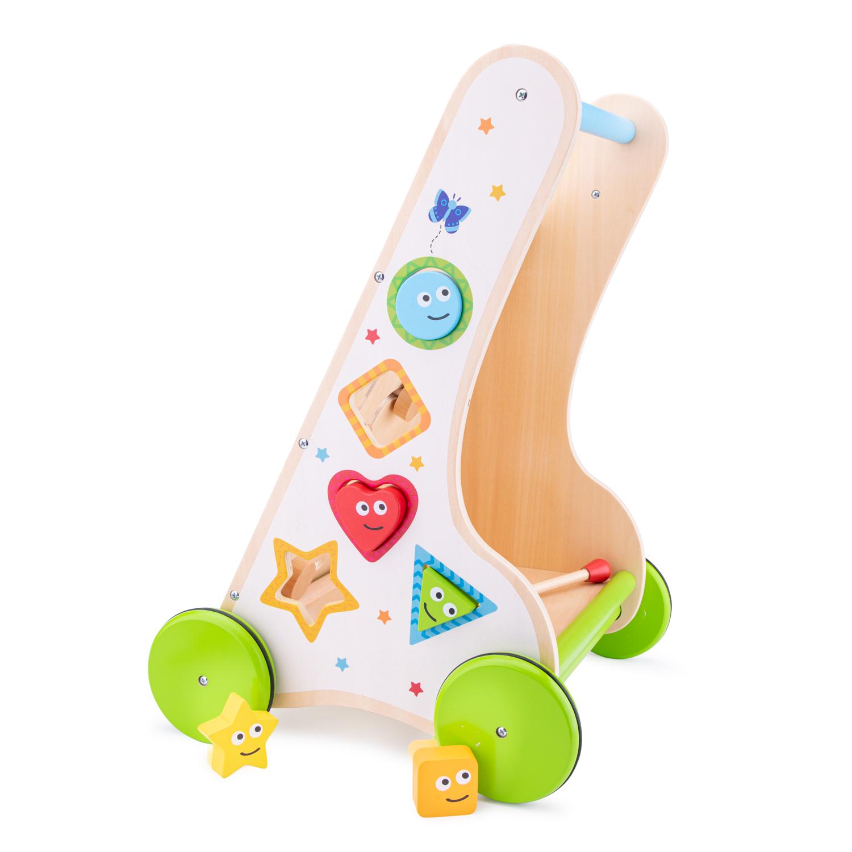 Дървена проходилка с активности от New classic toys-bellamiestore