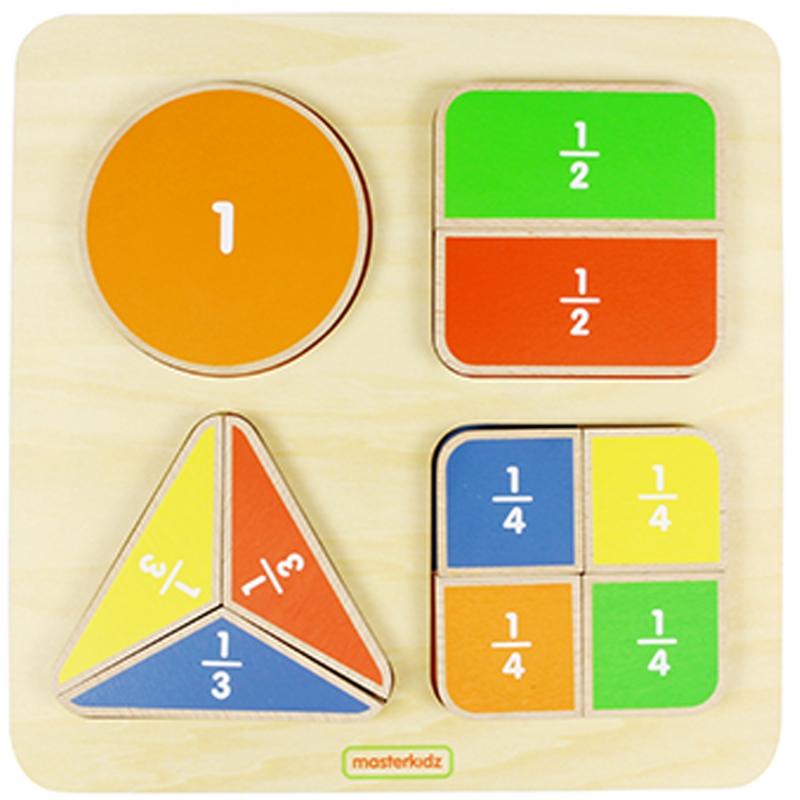 Математическа образователна дъска за делене - Монтесори материали-bellamiestore