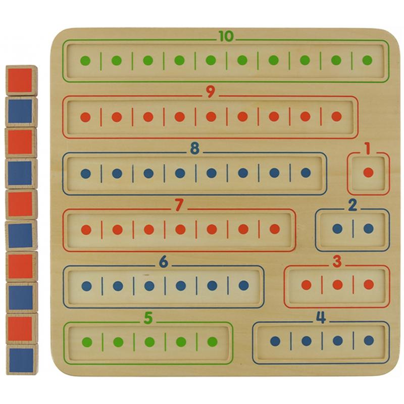Образователна дъска за смятане - Монтесори играчки от Masterkidz-bellamiestore