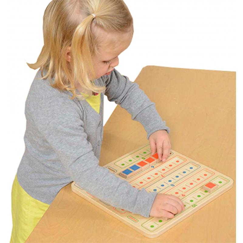 Образователна дъска за смятане - Монтесори играцхки от Masterkidz-bellamiestore