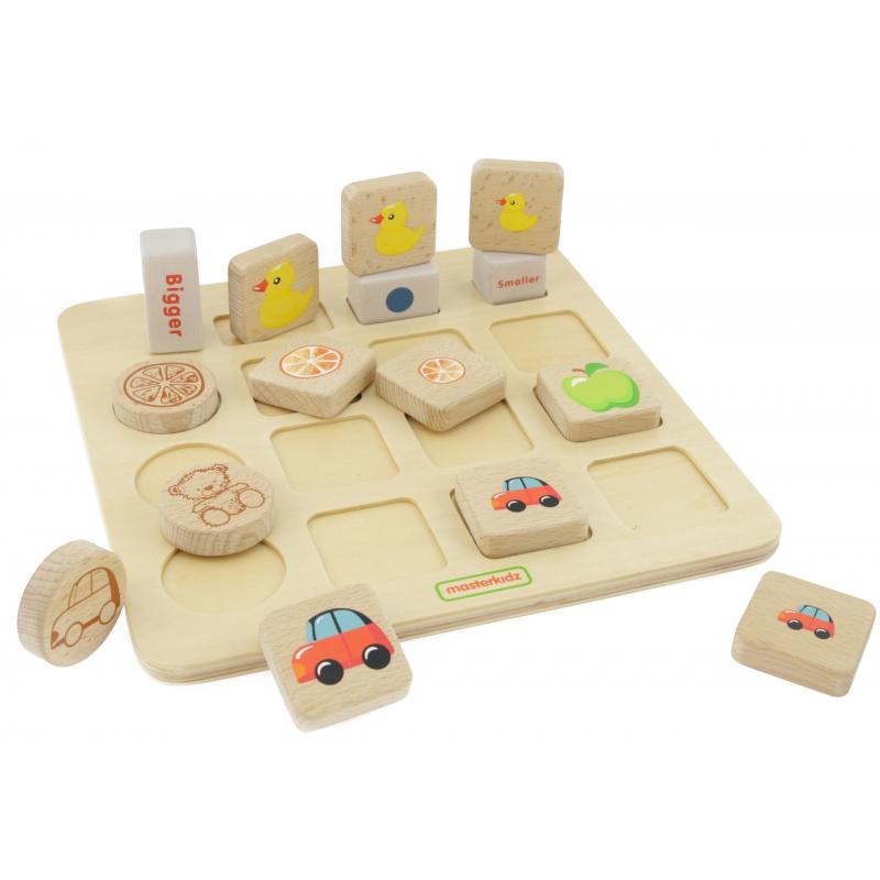 Образователна игра за групиране по размери от Masterkidz-bellamiestore