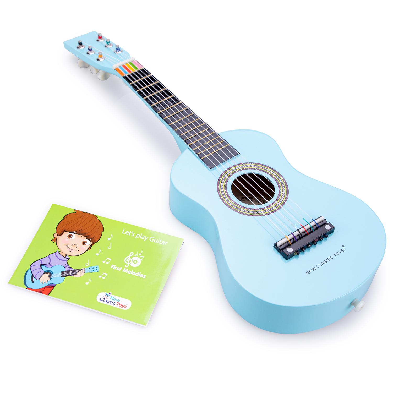 Синя детска китара от New classic toys-bellamiestore