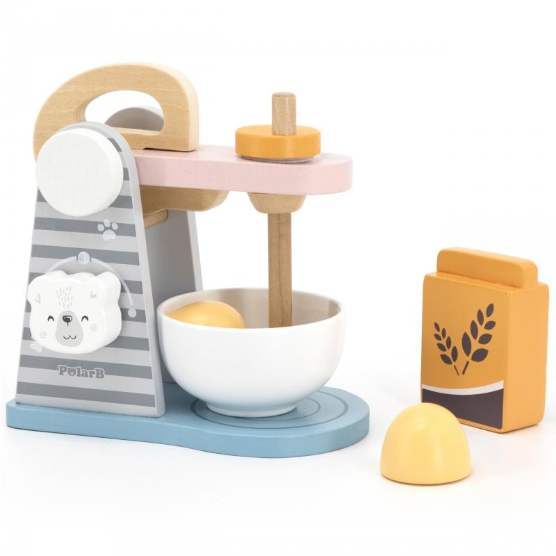 Дървен детски комплект Миксер PolarВ от Viga toys-bellamiestore