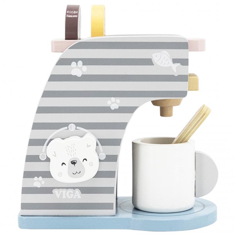 Дървена детска играчка - кафе машина Polar B-bellamiestore