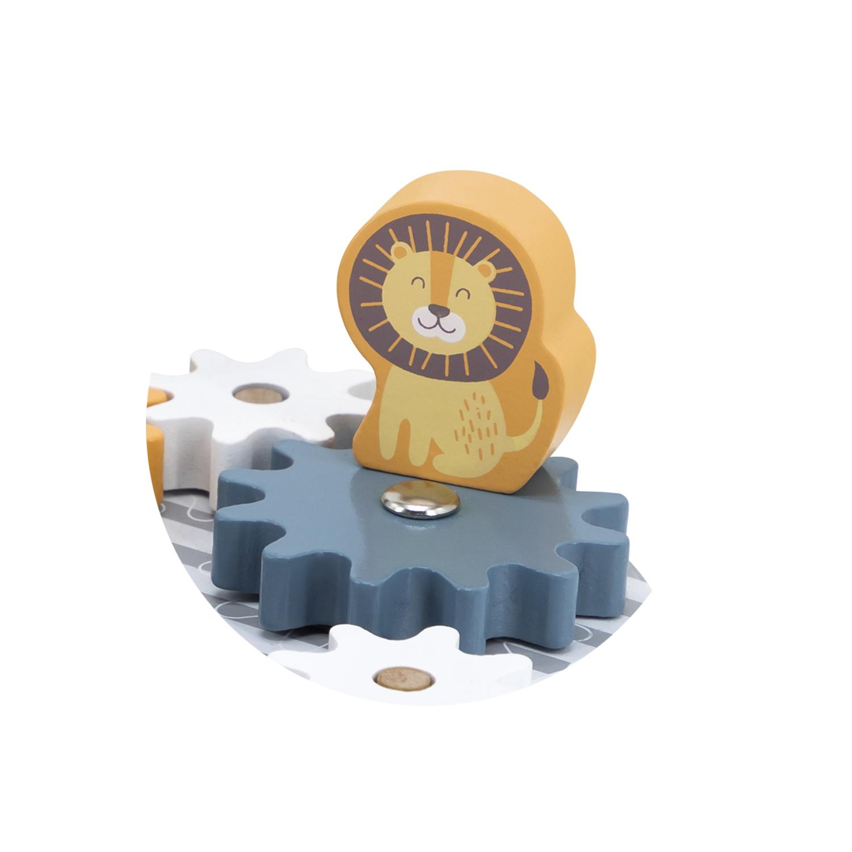 Дървена играчка със зъбчати колела Polar B - Viga toys-bellamiestore