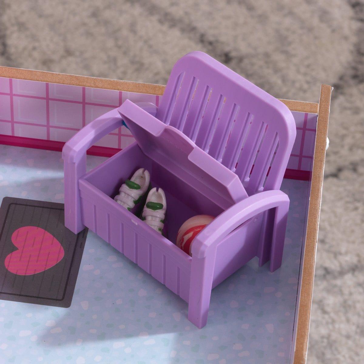 Дървена къщичка за кукли Лоли от Kidkraft-bellamiestore