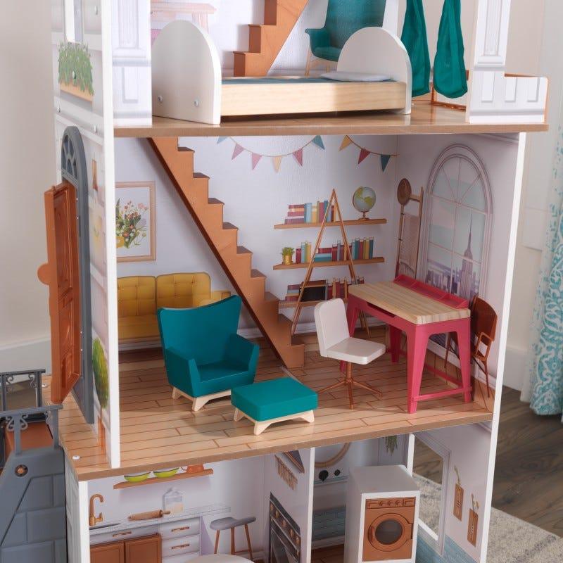 Дървена куклена къща в Холандски стил от KidKraft-bellamiestore