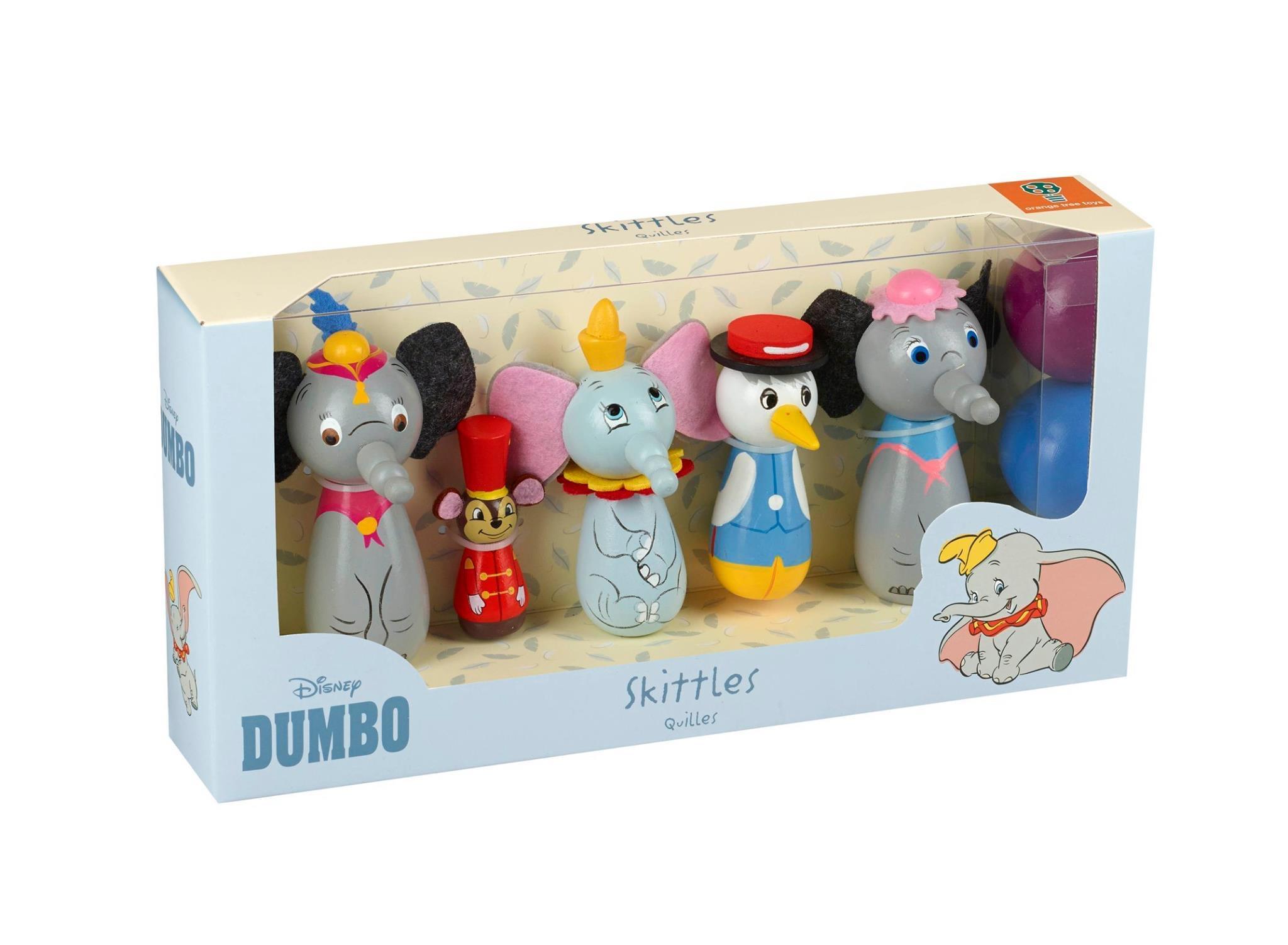 Детски боулинг с героите на Disney Дъмбо и приятели-bellamiestore