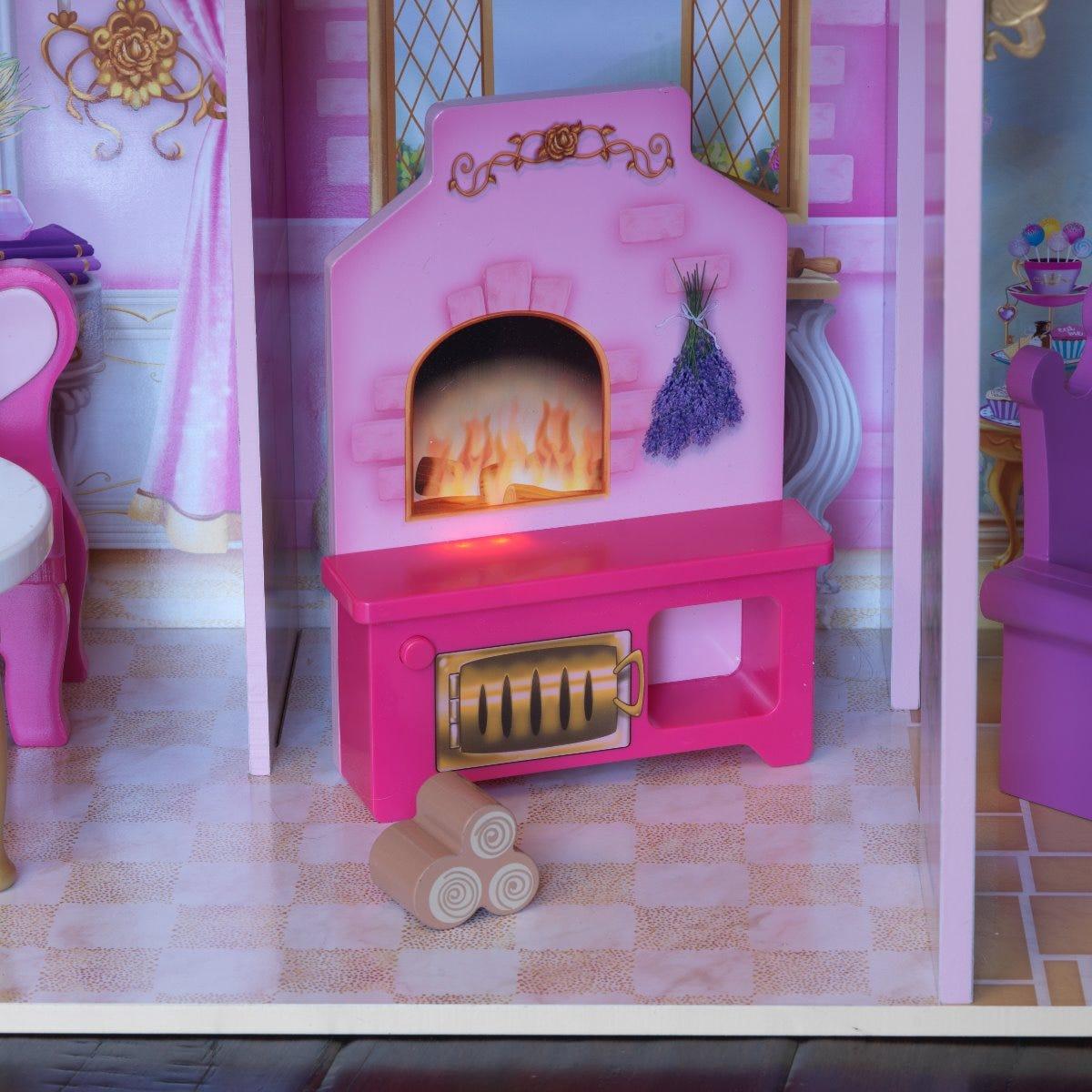 Къща за кукли Барби - Замъка на Розите от Kidkraft-bellamiestore