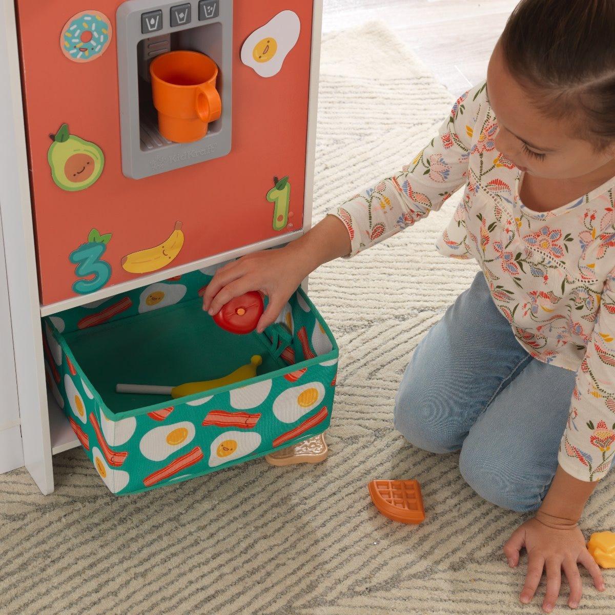 Kidkraft детска дървена кухня Слънчице-bellamiestore