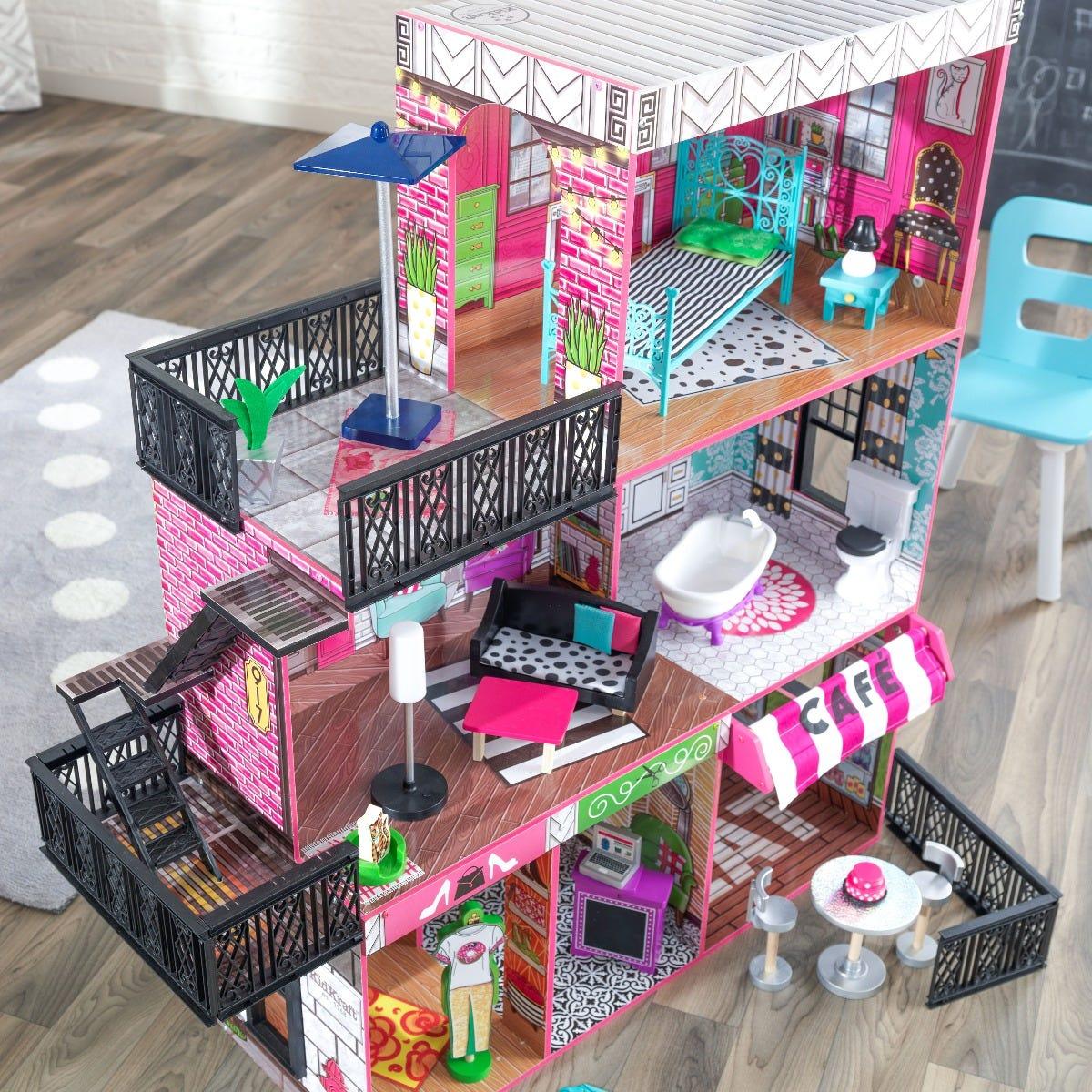 Kidkraft къща за кукли - Живота в Бруклин-bellamiestore