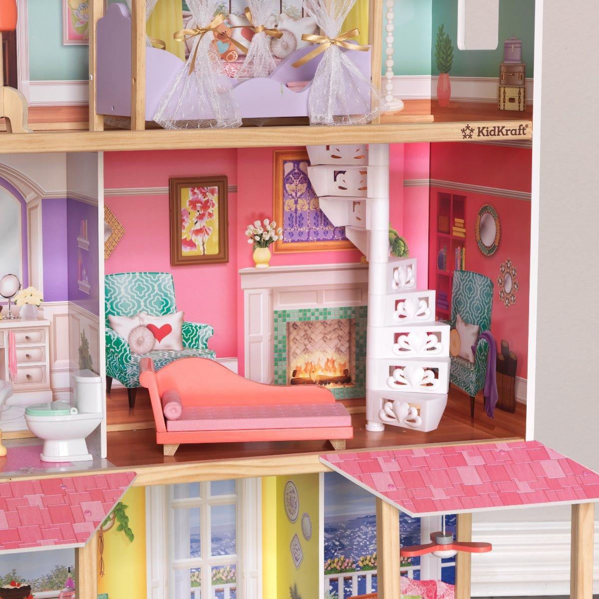 Kidkraft къща за кукли Барби - Вивиан-bellamiestore