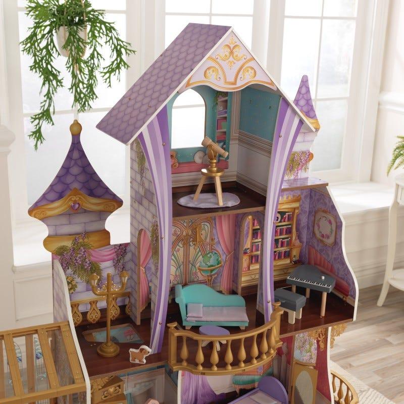 KidKraft омагьосаният замък - дървена къща за кукли-bellamiestore