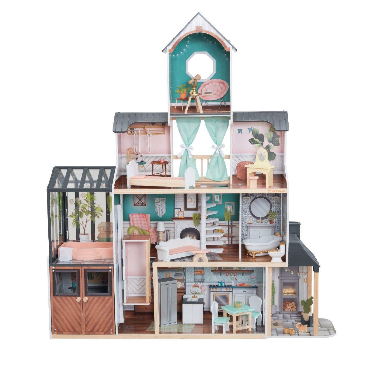 Магическа къща за кукли Барби- Селест от KidKraft-bellamiestore