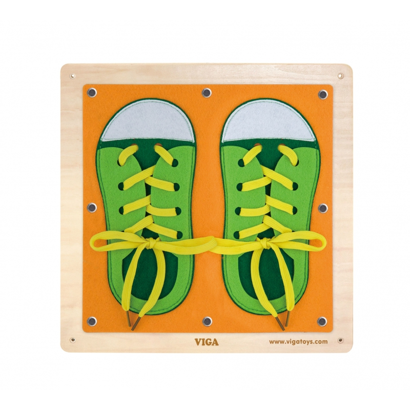 viga образователна игра Уча се да се обличам-bellamiestore