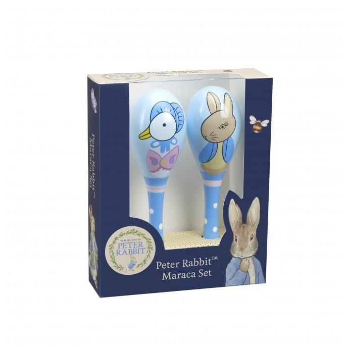 Зайчето Питър комплект маракаси за деца-bellamiestore