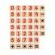 Комплект дървени магнитни цифри и знаци от Viga toys-bellamiestore
