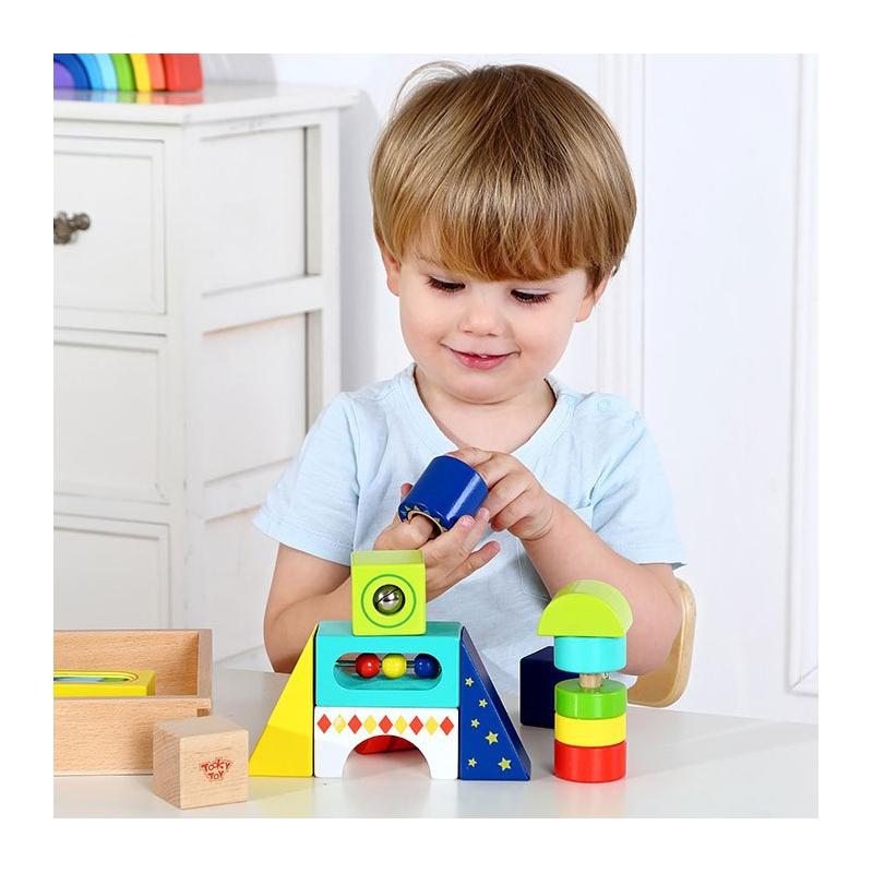 Дървени музикални блокчета от Tooky toy-bellamiestore