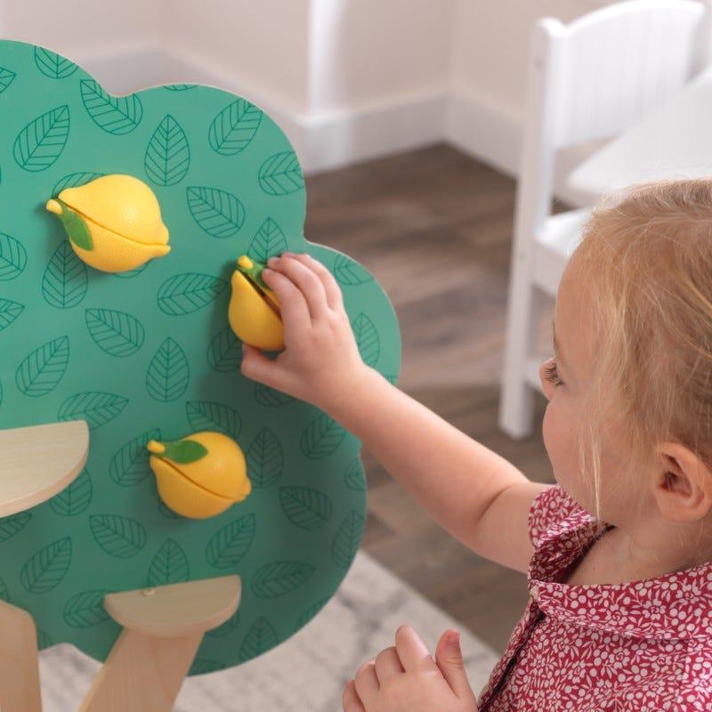 Дървена детска кухня с лимоново дърво от Kidkraft-bellamiestore