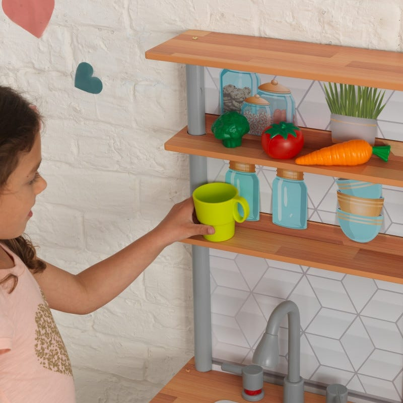 Детска дървена кухня Гурме от Kidkraft-bellamiestore