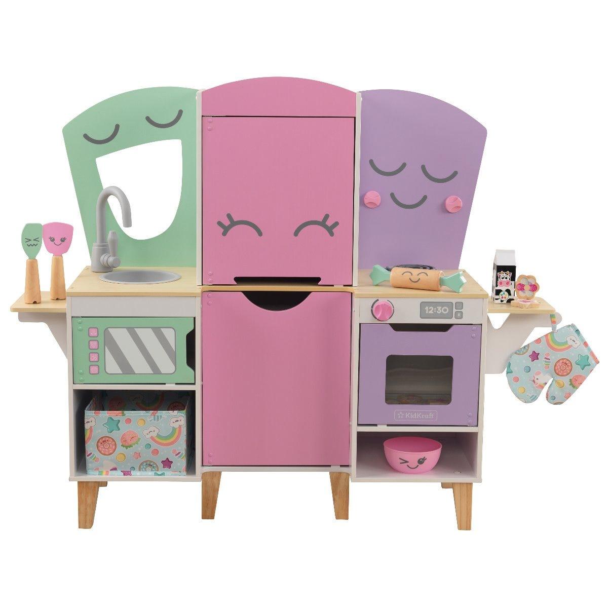 Детска дървена кухня Усмивката на Лили от Kidkraft-bellamiestore