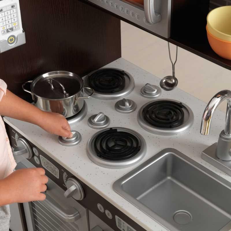 Детска дървена кухня за игра Еспресо от Kidkraft-bellamiestore
