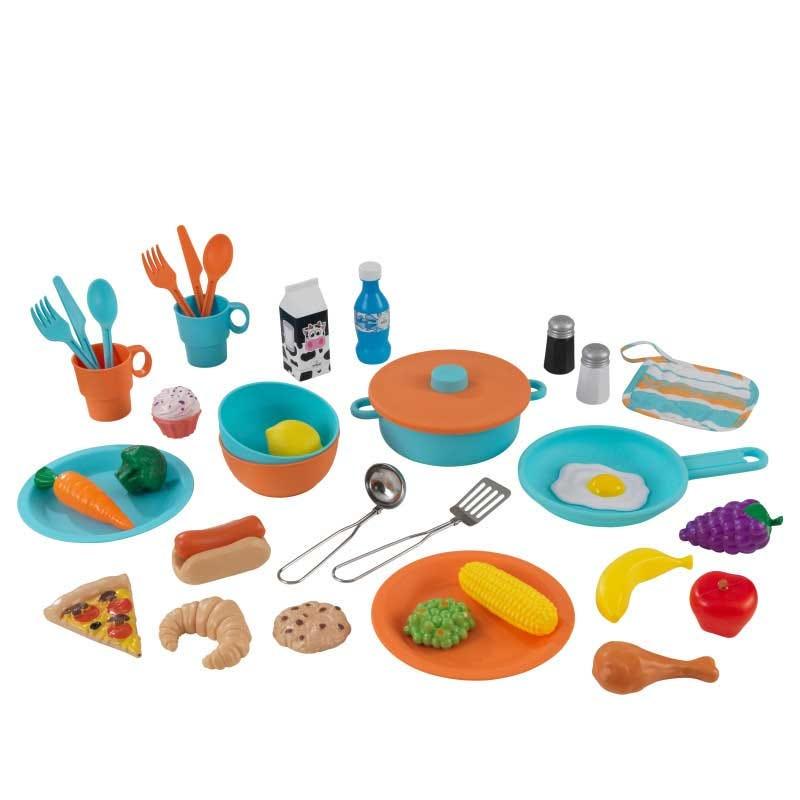 KidKraft детска кухня за игра с много аксесоари-bellamiestore