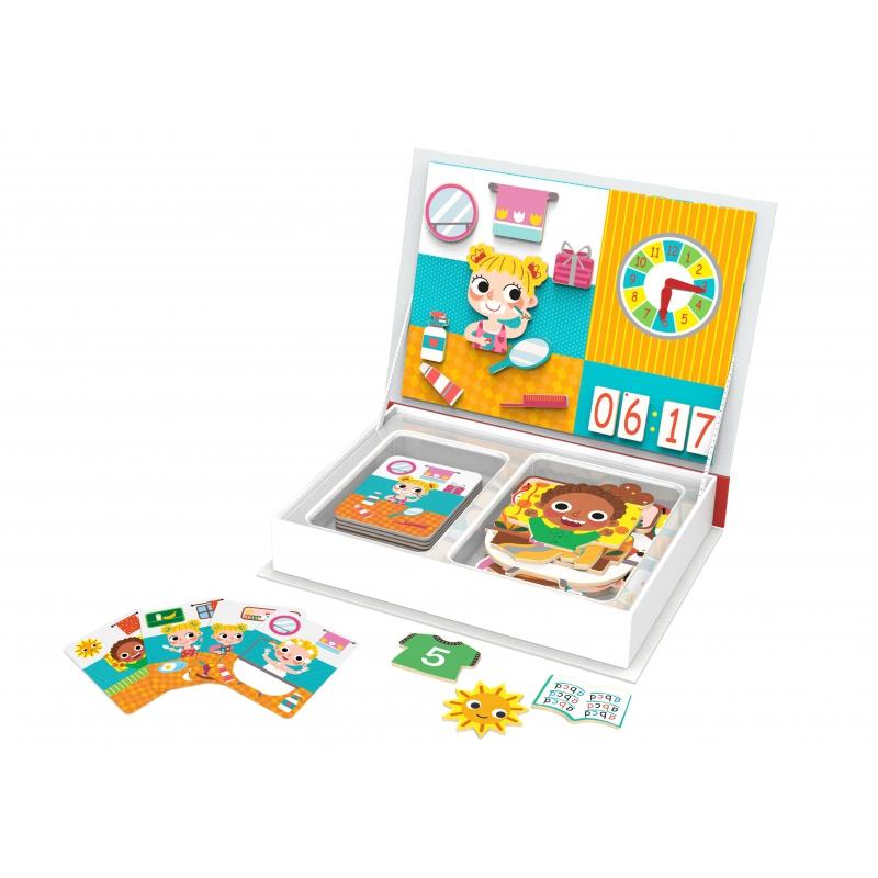 Магнитна книга Учим часовника заедно от Tooky toy-bellamiestore