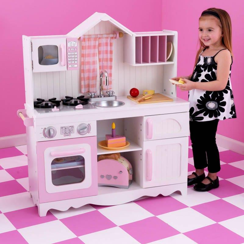 Модерна детска кънтри кухня от Kidkraft-bellamiestore