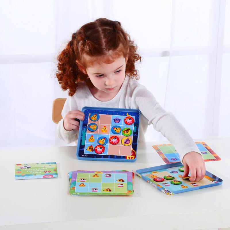 Настолна игра Судоку за деца - Фермата-bellamiestore