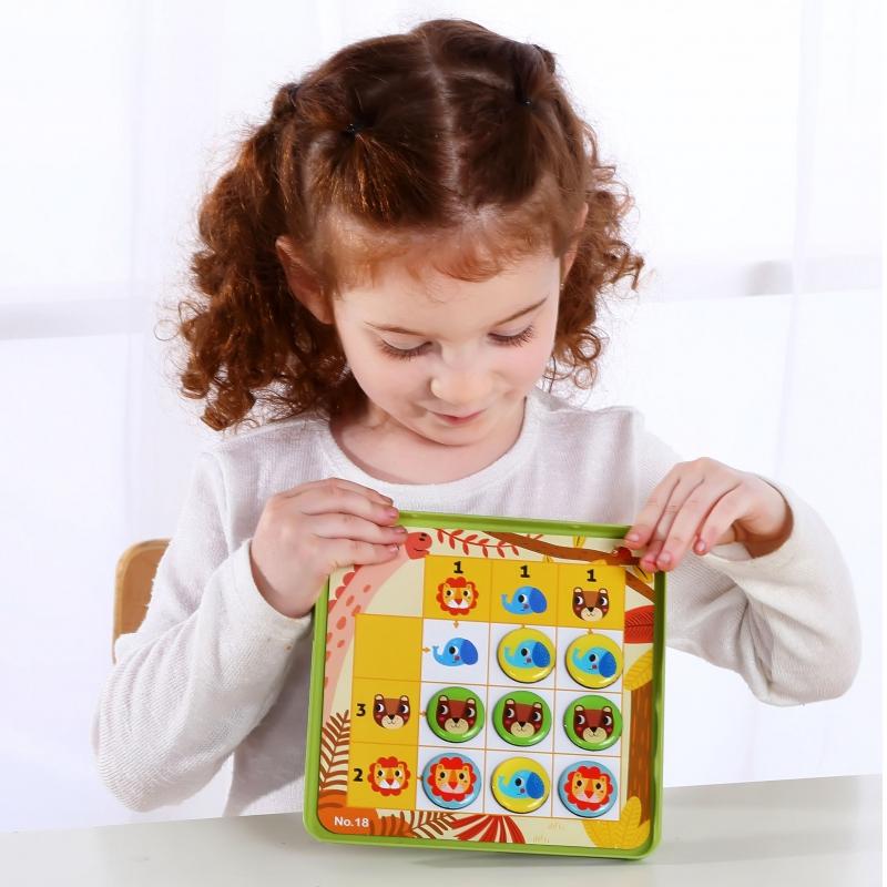 Судоку за деца с животни от Tooky toy-bellamiestore