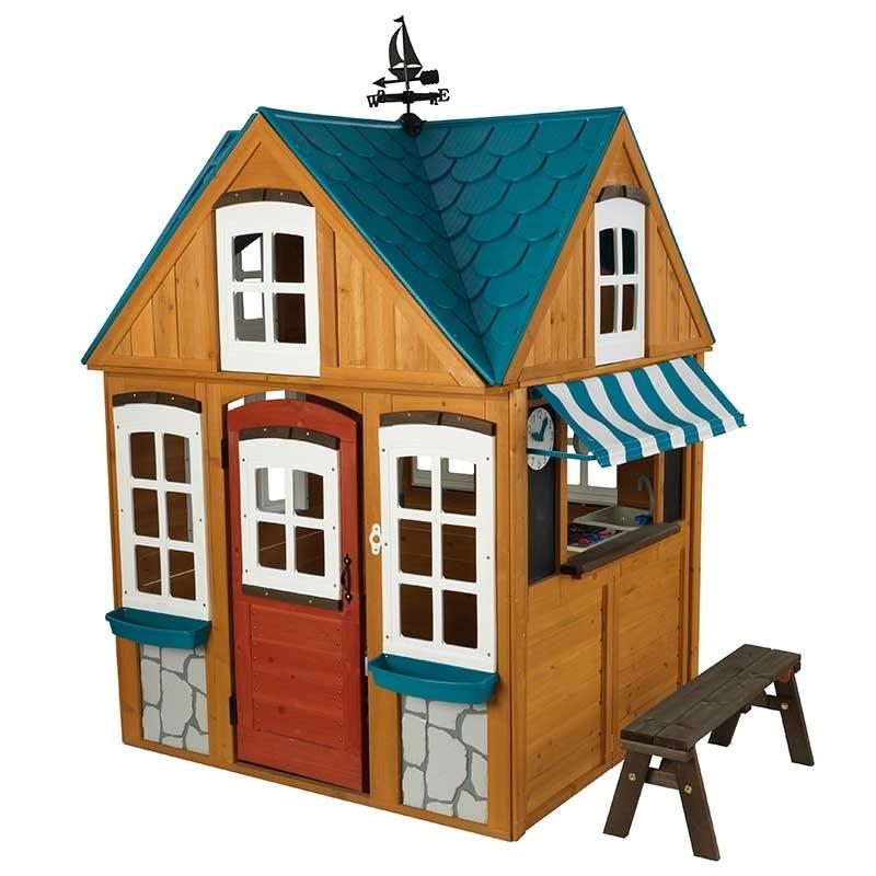 Детска дървена къщичка с ветропоказател от Kidkraft-bellamiestore