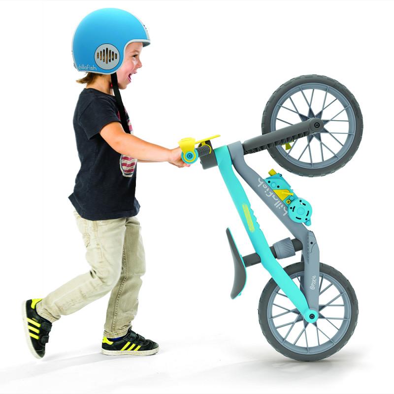 Детски баланс байк BMXIE Мото син от Chillafish-bellamiestore