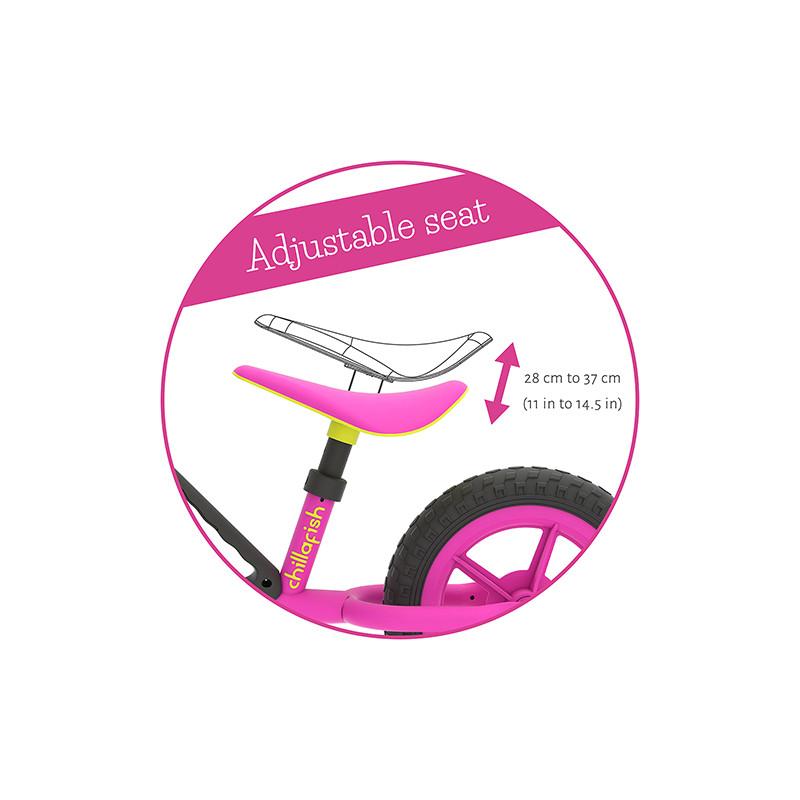 Детско колело за балансиране Chilafish Charlie розово-bellamiestore