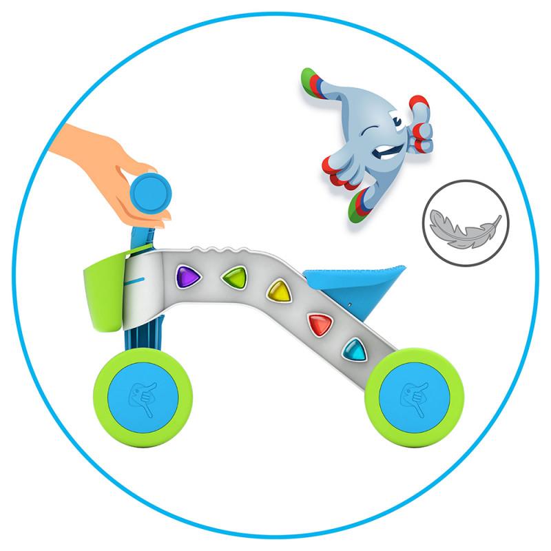 Детско колело за яздене от Chillafih - Itsibitsi в синьо-bellamiestore