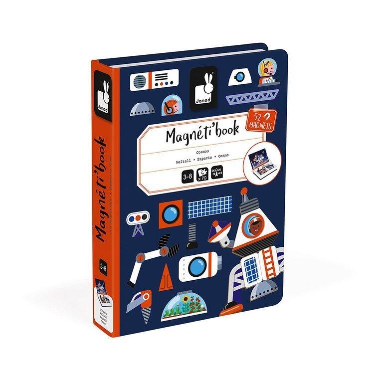 Магнитна книга Космос - образователна игра от Janod-bellamiestore