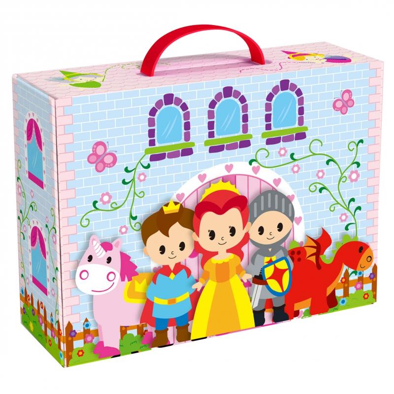 Tooky toy комплект за игра Приказния замък-bellamiestore