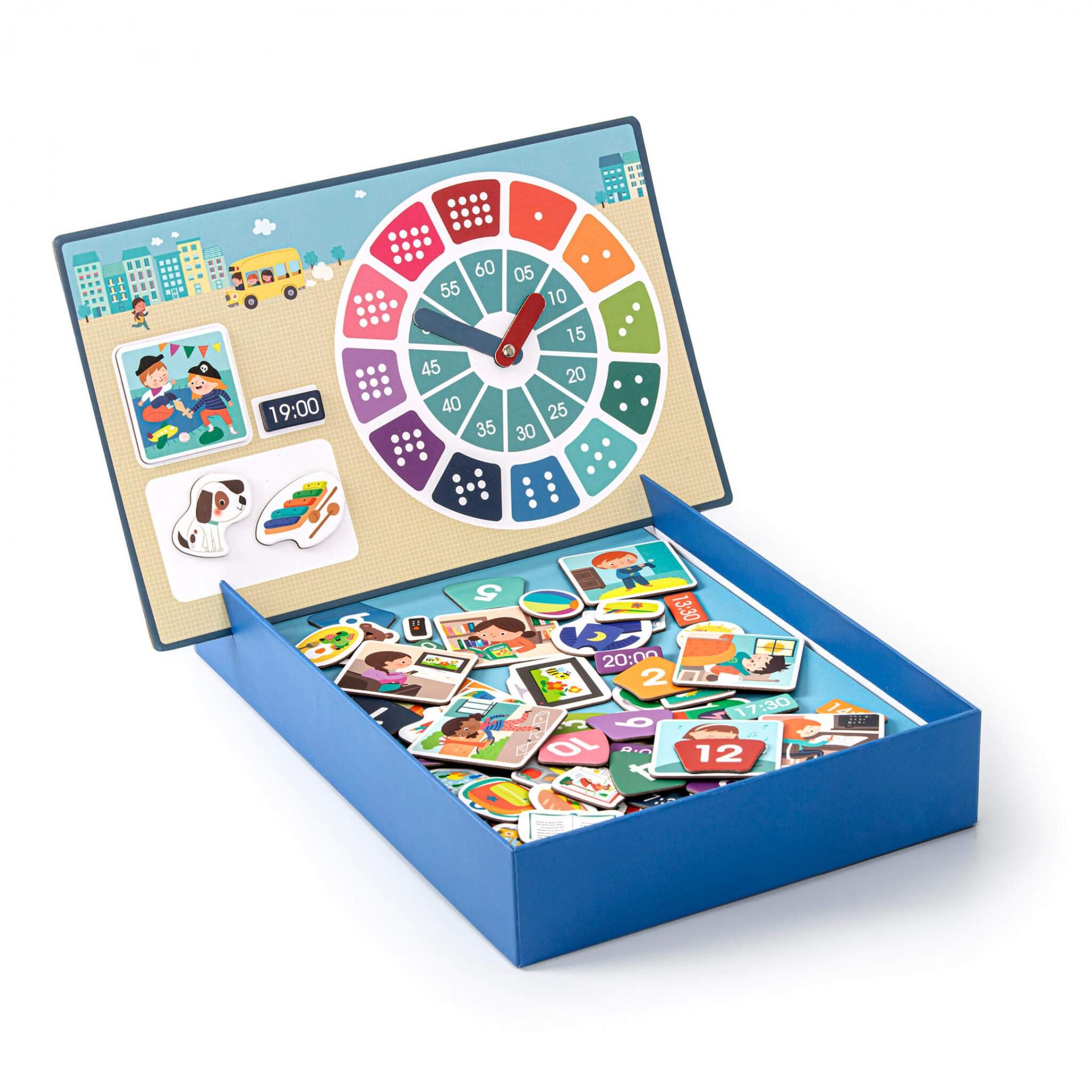 Apli магнитна образователна игра - Часовник-bellamiestore