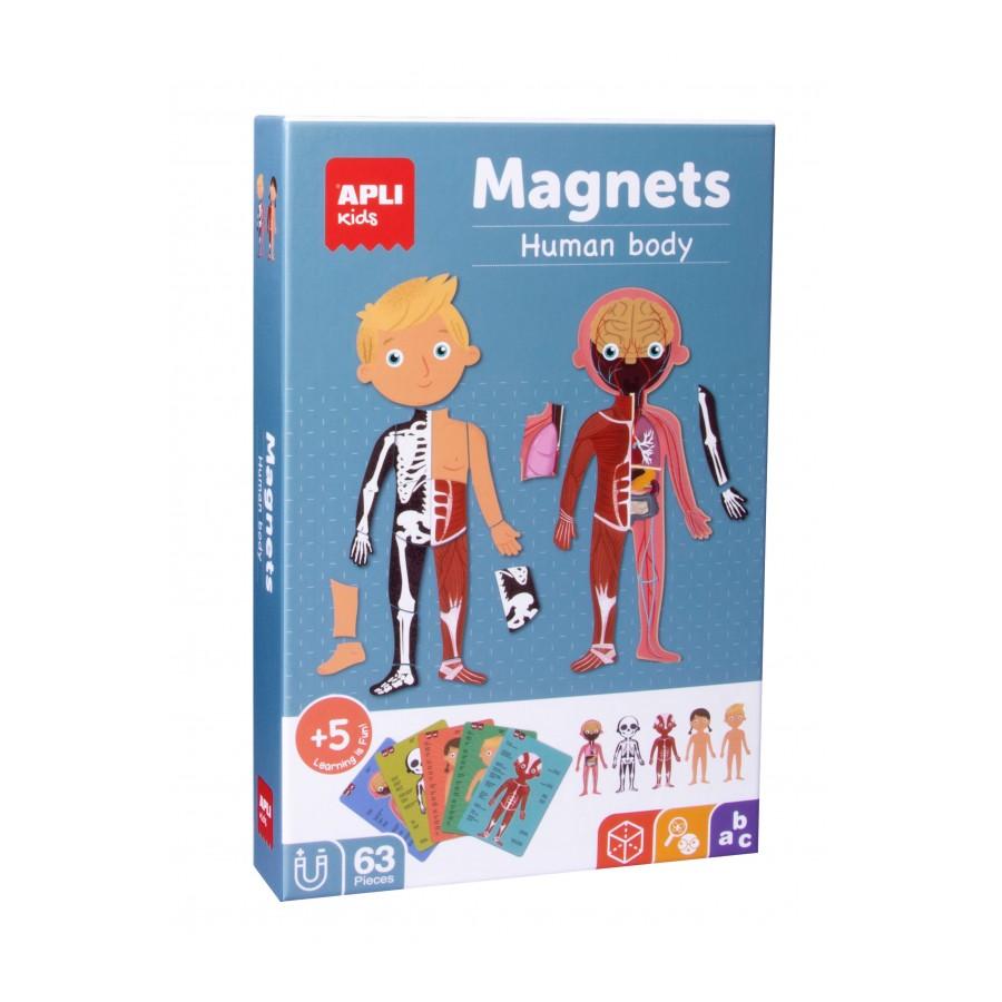 Apli Магнитна образователна игра - Човешко тяло-bellamiestore