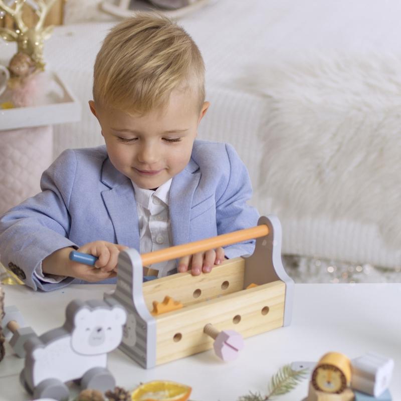 Дървен майсторски комплект за деца Polar B-bellamiestore