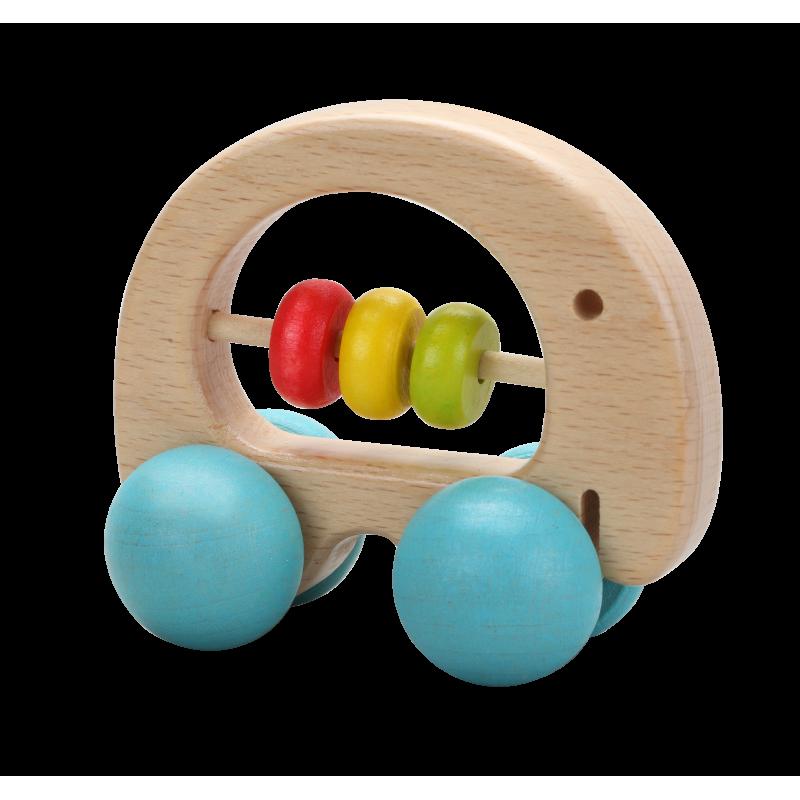 Дървена бебешка играчка Слонче от Classic world-bellamiestore