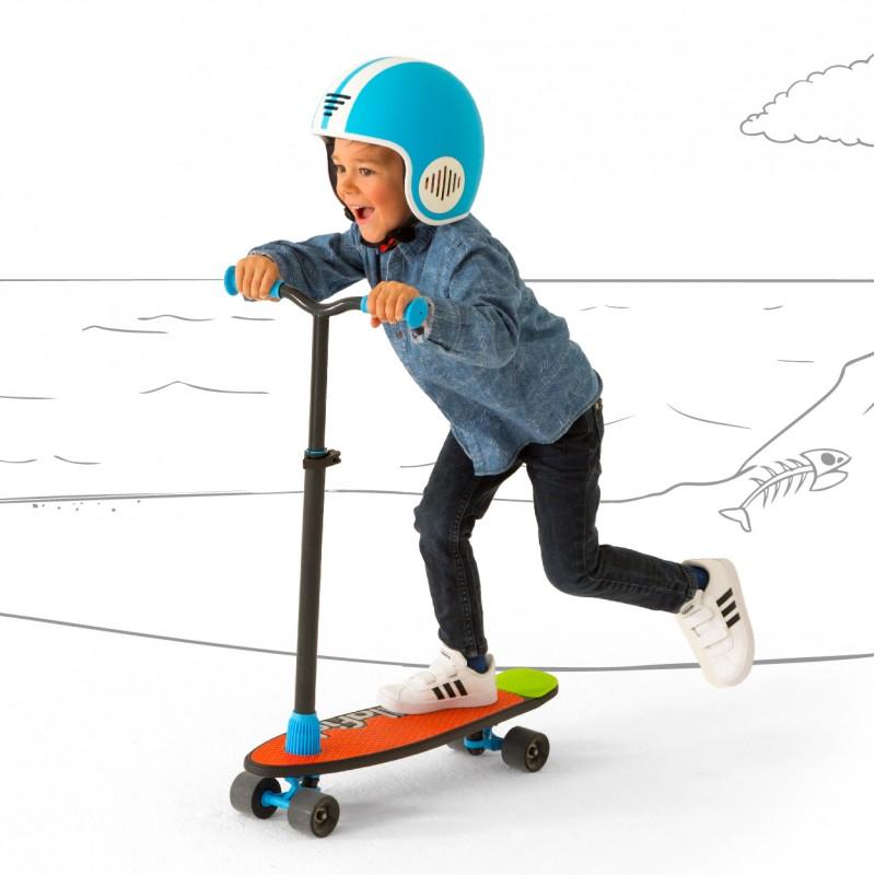 Детска тротинетка и скейтборд 2 в 1 от Chillafish-bellamiestore