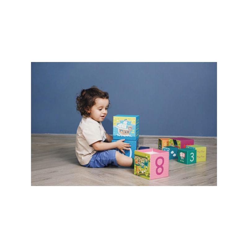 Детски кубчета Транспортни средства 10 броя от Classic world-bellamiestore