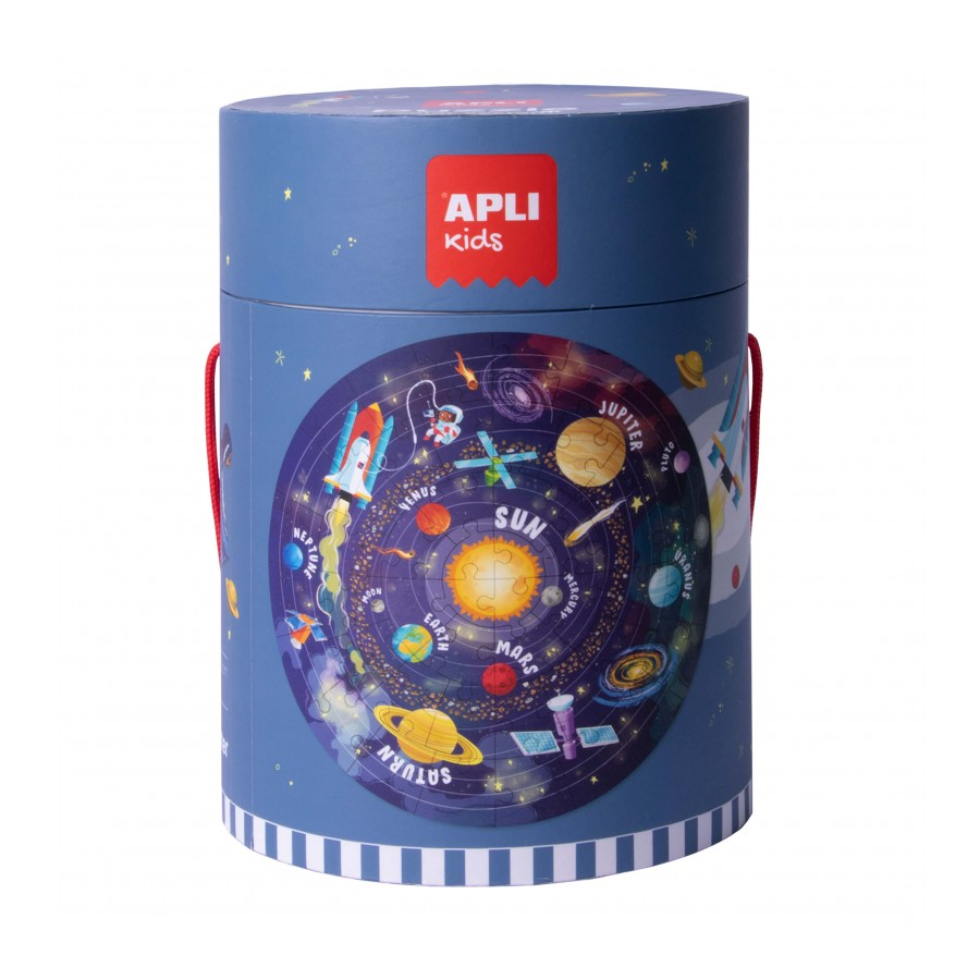 Детски пъзел Слънчева система от Apli kids-bellamiestore