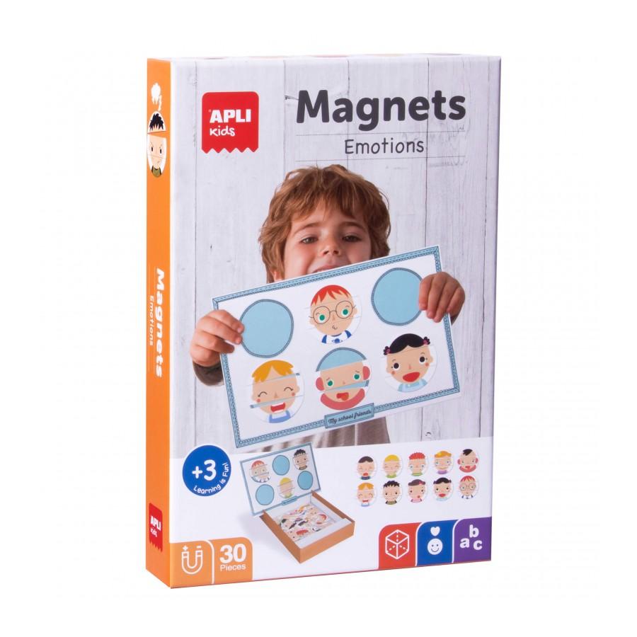 Емоции - Магнитна игра от Apli kids-bellamiestore