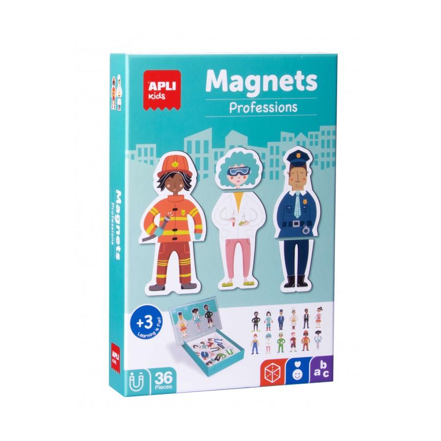 Образователна игра с магнити - Професии от Apli-bellamiestore
