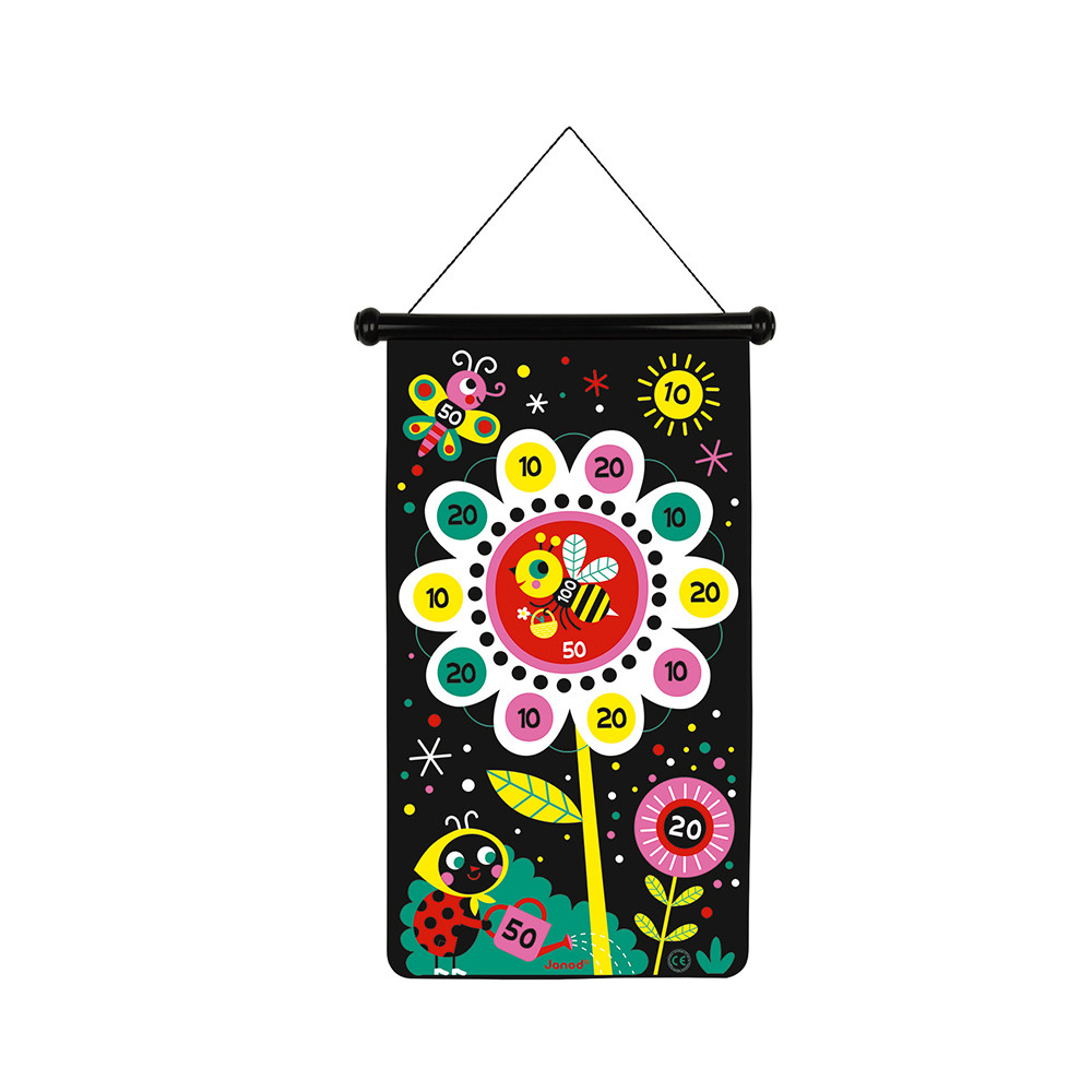 Дартс за деца с магнити Градина от Janod-bellamiestore