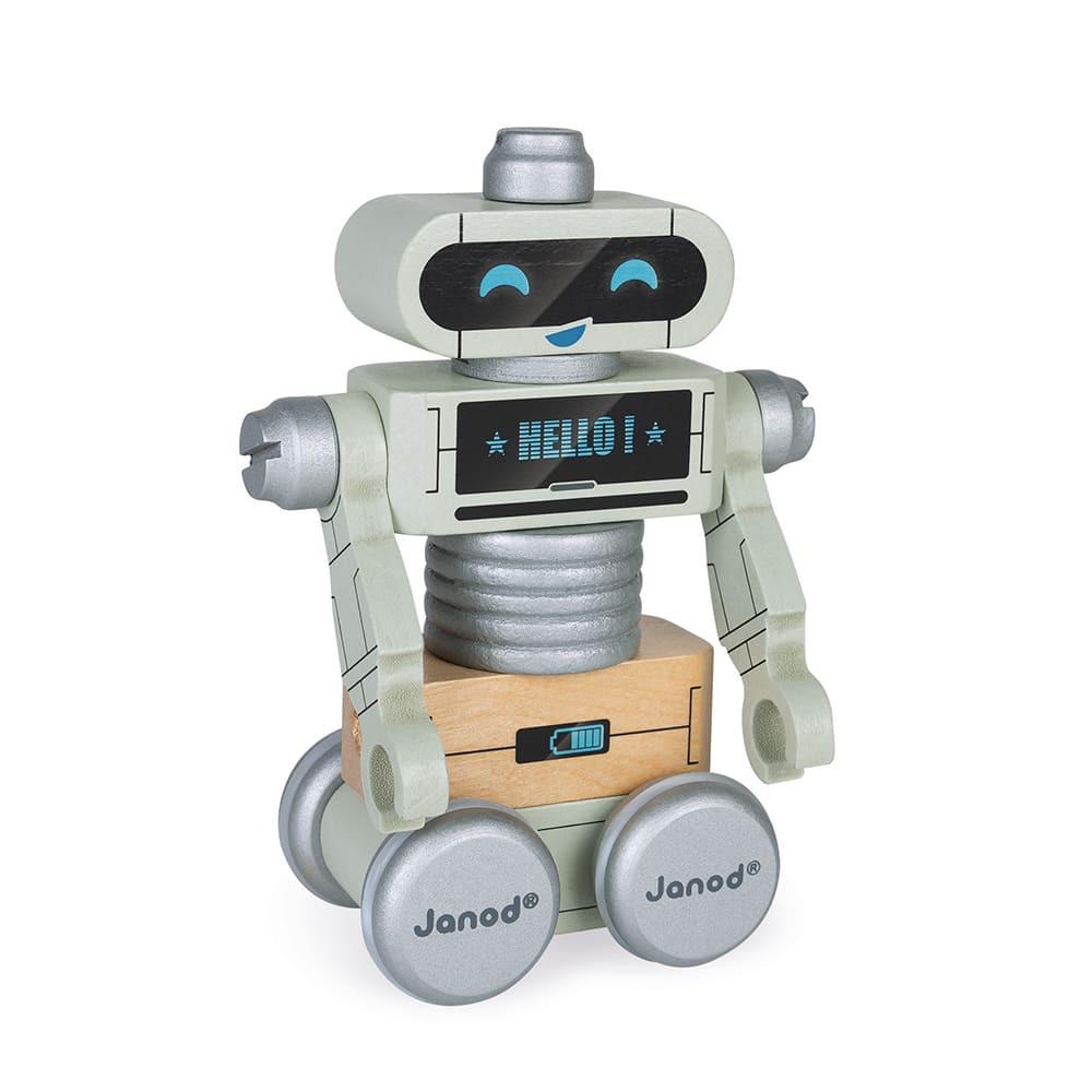 Дървена играчка - Направи си роботи от Janod-bellamiestore