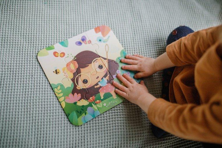 Детски пъзел с повишаваща трудност Сезони от Janod -bellamiestore