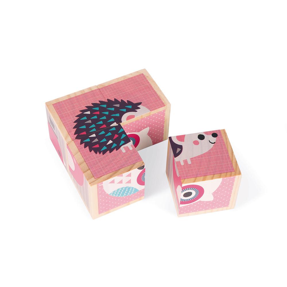 Моите първи дървени кубчета от Janod-bellamiestore